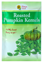 Roasted Pumpkin Kernels (For Export Market) 25g.